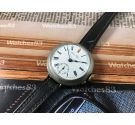 WW1 Vintage manual winding trench watch 1920 Porcelain Dial OVERSIZE: 38,8 mm