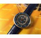Comin Caribbean Reloj suizo antiguo automático 25 rubis DIVER Gran diámetro ** COLECCIONISTAS **