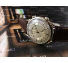 LeCoultre Memovox Reloj Alarma antiguo de cuerda Plaqué OR Cal 489 *** COLECCIONISTAS ***