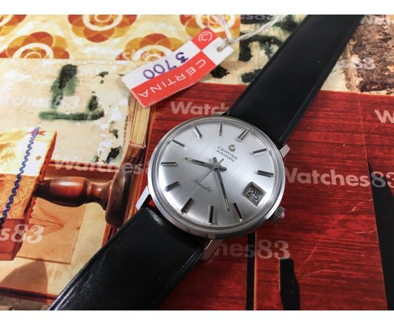 Certina automatic NEW ART New old stock Vintage swiss watch 70s *** NOS ***