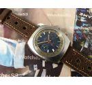 Nelco reloj cronografo antiguo de cuerda manual Valjoux 7733