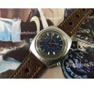 Nelco vintage chronograph manual winding watch Valjoux 7733