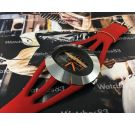 NOS Spaceman Fiberglass Patented Reloj antiguo de cuerda *** Nuevo de antiguo stock ***