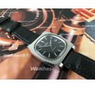 Omega Genève automatic Reloj suizo vintage automático dial negro Cal 1012 Ref 166.0190