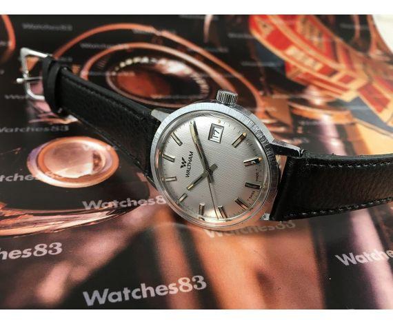 Waltham reloj antiguo suizo de cuerda