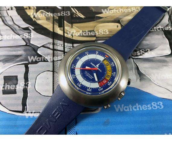 Memosail Regatta Yachttimers Vintage swiss watch Chronograph Cal Valjoux 7737 *** Oversize 45mm ***