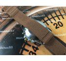 Bulova Valjoux 7750 automatic oversize Vintage swiss watch chronograph + Bracelet
