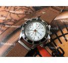 Bulova Valjoux 7750 automatic oversize Reloj vintage cronógrafo automático + Brazalete Extra