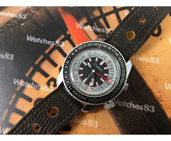 Endura Reloj vintage de cuerda Calendario perpetuo swiss made