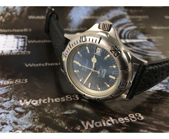 Squale vintage swiss automatic watch Corallo Diver 20 Atmos Cal ETA 2892 *** COLLECTORS ***