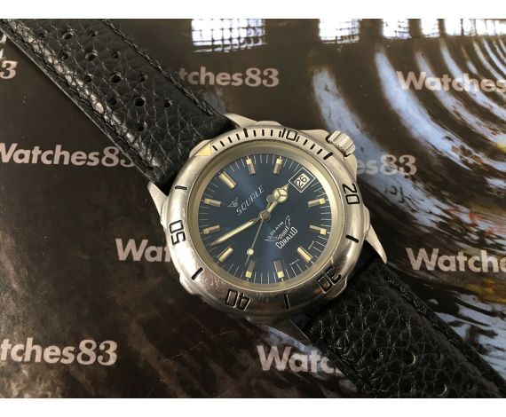 Squale Reloj suizo antiguo Corallo Diver automático 20 Atmos Cal ETA 2892 *** COLECCIONISTAS ***