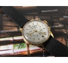 Coursier Vintage watch Chronometer Chronograph manual winding Solid Gold 18K COLLECTOR'S