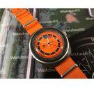 Tissot Sideral Reloj suizo vintage automático NARANJA