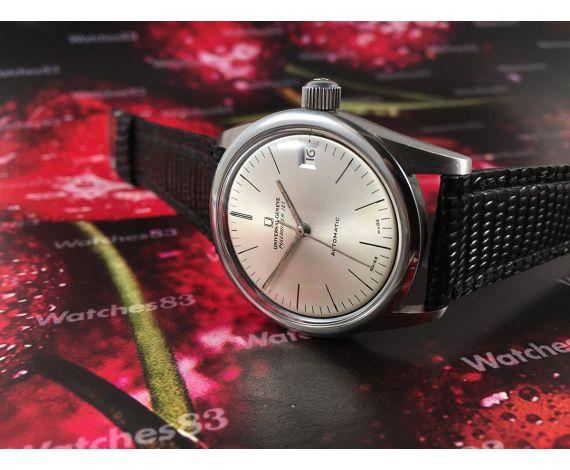 Polerouter JET Universal Geneve Microtor cal 1-69 Reloj antiguo automático 28 jewels