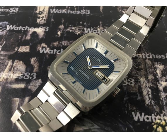 Fortis Edifil vintage swiss automatic watch 21 jewels OVERSIZE