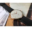 N.O.S. Movado vintage swiss hand wind watch plaqué OR *** New old stock ***
