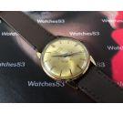 Zodiac Powergraphic Reloj antiguo suizo de cuerda Reserva de marcha Oversize