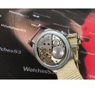 Invicta Triple Fecha Reloj suizo antiguo de cuerda IMPRESIONANTE