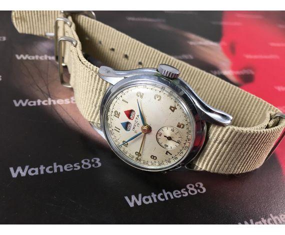 Invicta Triple date Vintage swiss hand winding watch Wonderful