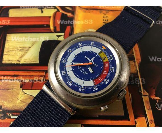 Vintage swiss watch Memosail Regatta Yachttimers Chronograph Cal Valjoux 7737