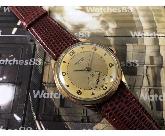 Xilefsa Cronómetro vintage reloj suizo antiguo de cuerda *** GRAN DIÁMETRO ***