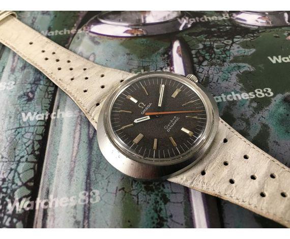 Omega Dynamic Genève 1968 Reloj suizo antiguo de cuerda Tool 107 *** Todo original ***