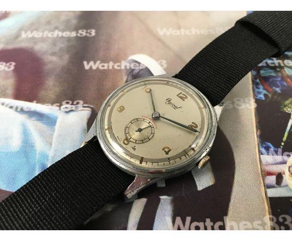 Ogival Reloj suizo antiguo de cuerda