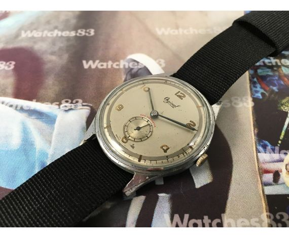 Ogival vintage swiss manual winding watch