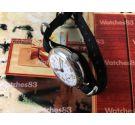 Patria (Omega) WW1 Reloj suizo vintage oficial de trinchera de cuerda 1914/18 Dial porcelana COLECCIONISTAS Oversize