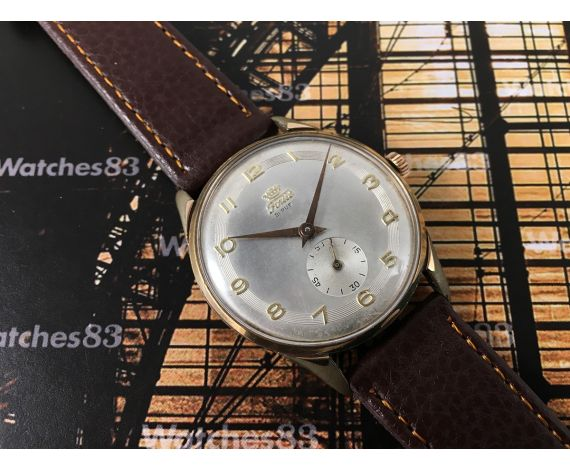 Fortis Reloj suizo antiguo de cuerda OVERSIZE 21 rubis
