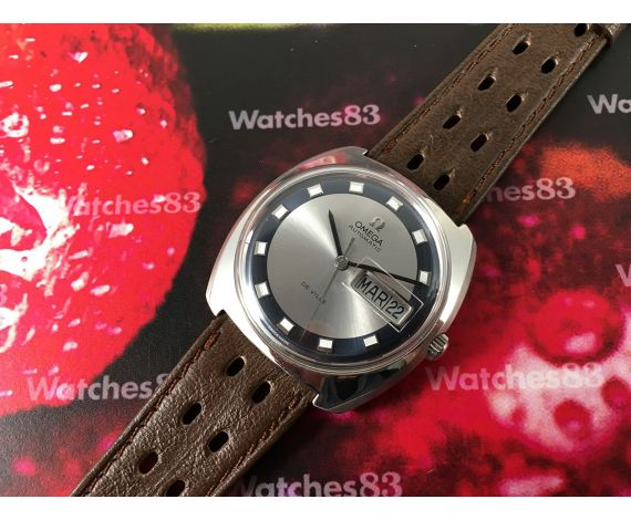 N.O.S. Omega De Ville Reloj vintage automático cal 752 Bicolor Nuevo de antiguo Stock *** Rareza ***
