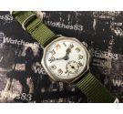 Vintage Military watch mechanical manual wind Porcelain dial