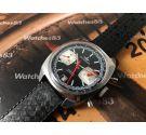 Dugena cronografo crono antiguo de cuerda Cal Valjoux 7734 *** Casi nuevo de antiguo stock ***