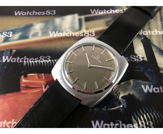 Certina New old stock Vintage swiss hand winding watch 70s *** NOS ***