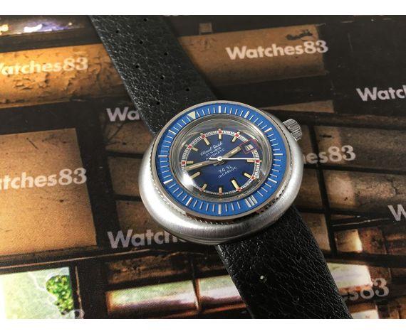 NOS Clinval Watch Caribbean 15 ATM Reloj suizo antiguo automático 21 rubis DIVER *** Nuevo de antiguo Stock ***
