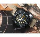 Aquastar SA Genève Glasstar Reloj suizo antiguo automático 10 ATM Diver *** COLECCIONISTAS ***