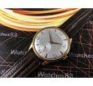 Reloj suizo antiguo de cuerda Dogma Prima Oversize Plaqué OR