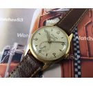 Vintage watch hand winding DOLLAR gold filled 17 jewels OVERSIZE