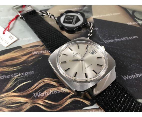 NOS Omega Genève Reloj suizo antiguo automático Cal 1012 Ref. 166.0164 Nuevo de antiguo Stock *** RAREZA ***