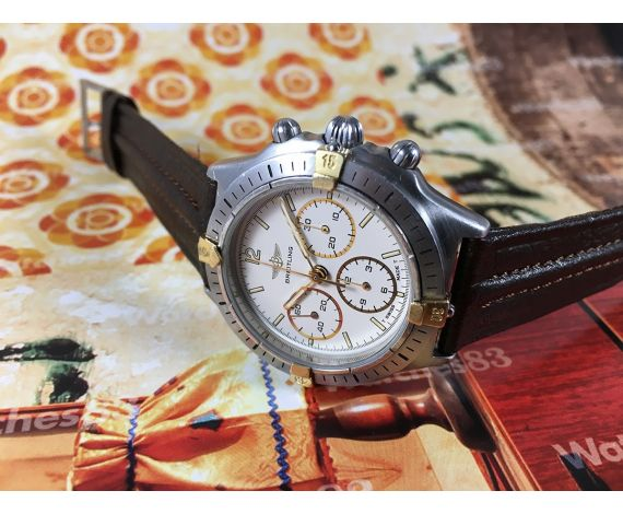 Breitling Callisto vintage swiss chronograph manual winding watch Cal LWO 1873 *** ESPECTACULAR ***