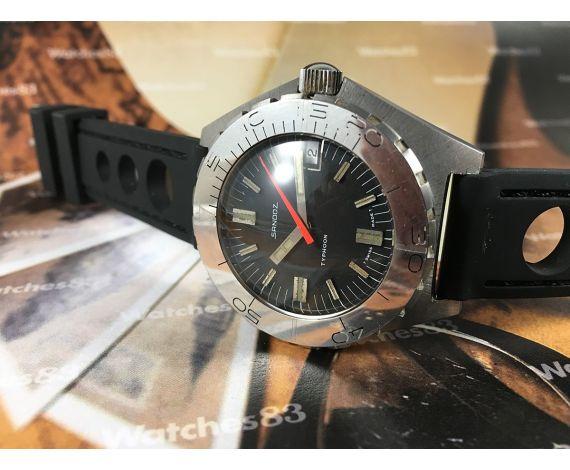 Sandoz Typhoon 1000M Diver vintage swiss automatic watch *** COLLECTORS ***