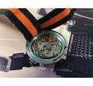 Super-Watch cronografo crono antiguo de cuerda Cal Valjoux 7734 *** ESPECTACULAR ***