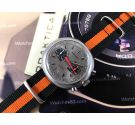Super-Watch chronograph chrono manual winding vintage watch Cal Valjoux 7734 *** SPECTACULAR ***