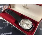 NOS Omega Electronic F300 Hz Genève Chronometer Reloj suizo antiguo Cal 1250 + ESTUCHE *** Nuevo de antiguo Stock ***