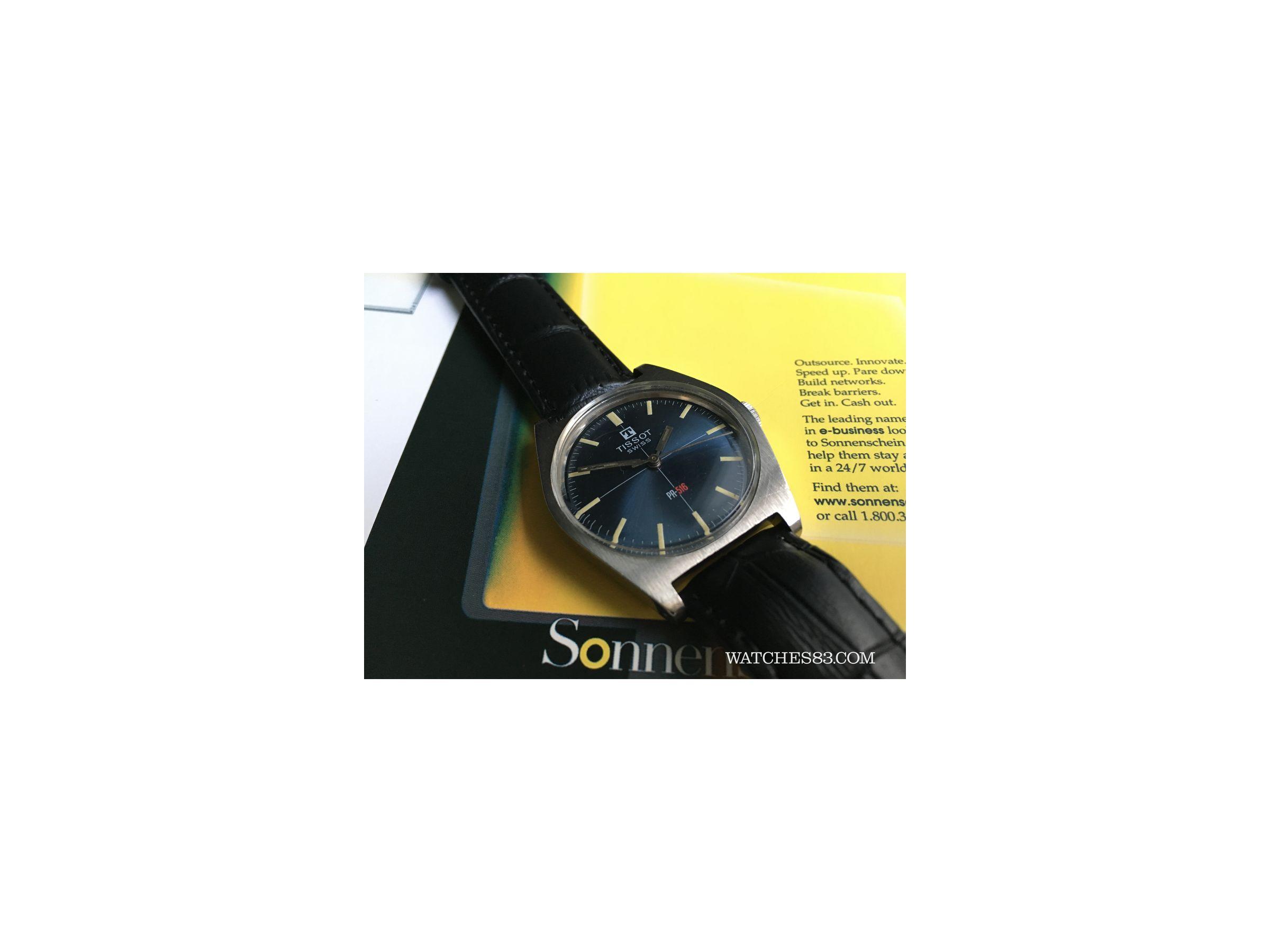 Reloj Suizo Antiguo De Cuerda Tissot Pr 516 Watches83