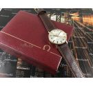 Omega Genève Vintage swiss watch hand wind Red Star Ref 162.009 Cal 601 Plaqué OR + BOX