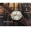Omega Genève Reloj antiguo de cuerda Estrella Roja Ref 162.009 Cal 601 Plaqué OR + Estuche