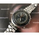 Seiko Slide Rule vintage chronograph automatic watch Cal 6138 Ref 6138-7000