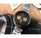 Seiko SpeedTimer Bullhead vintage chronograph automatic watch Cal 6138 JAPAN J 6138-0040
