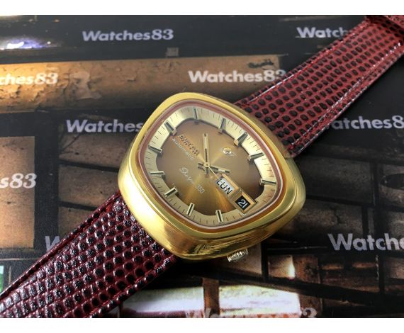 Enicar Sherpa 350 vintage swiss automatic watch Cal AR 1670 *** Spectacular ***